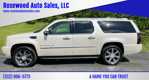 2008 Cadillac Escalade ESV for sale at Rosewood Auto Sales, LLC in Hamilton OH