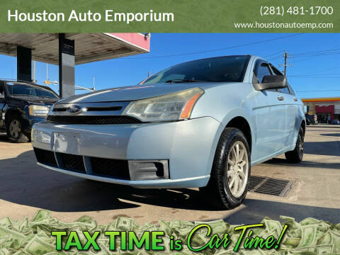 2009 Ford Focus for sale at Houston Auto Emporium in Houston TX