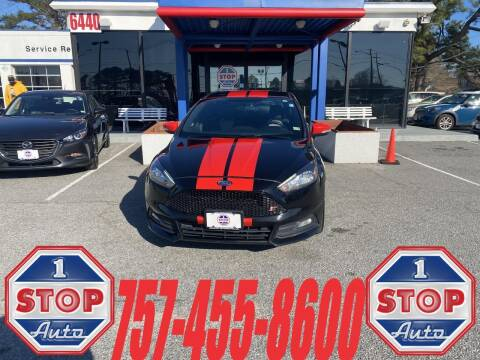 2016 Ford Focus for sale at 1 Stop Auto in Norfolk VA