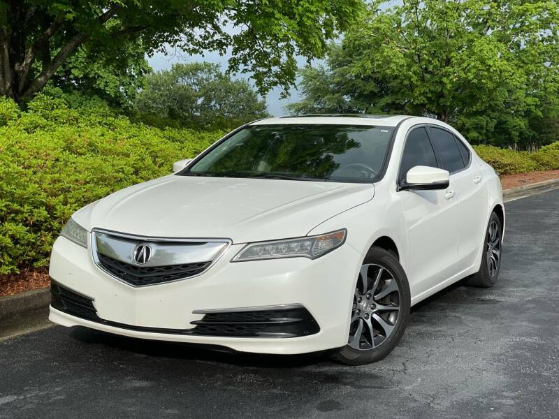 2015 Acura TLX for sale at William D Auto Sales in Norcross GA
