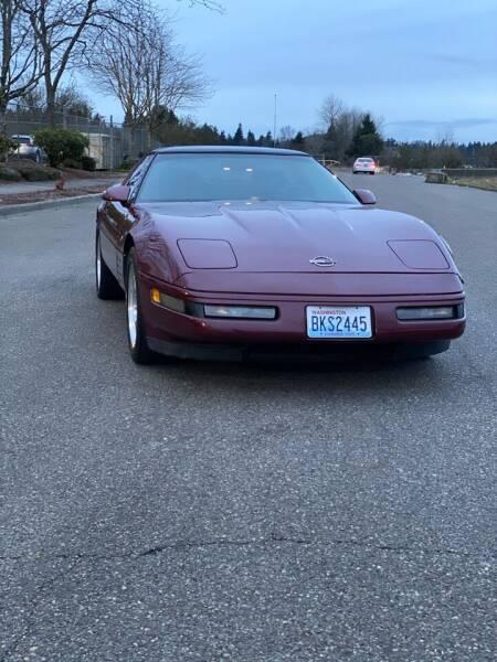 1993 Chevrolet Corvette for sale at Washington Auto Sales in Tacoma WA