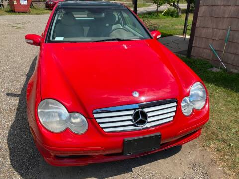 2002 Mercedes-Benz C-Class for sale at Richard C Peck Auto Sales in Wellsville NY