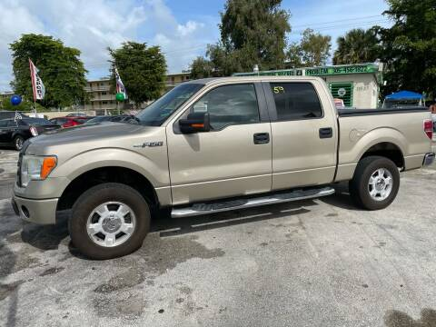 2010 Ford F-150 for sale at D & P OF MIAMI CORP in Miami FL