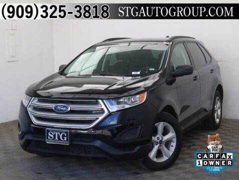 2016 Ford Edge for sale at STG Auto Group in Montclair CA