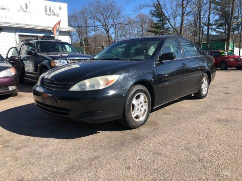 2003 Toyota Camry for sale at Lucien Sullivan Motors INC in Whitman MA