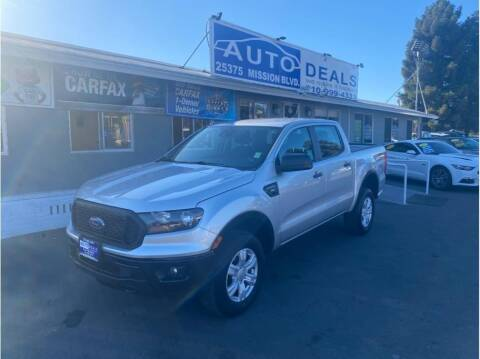 2019 Ford Ranger for sale at AutoDeals in Hayward CA