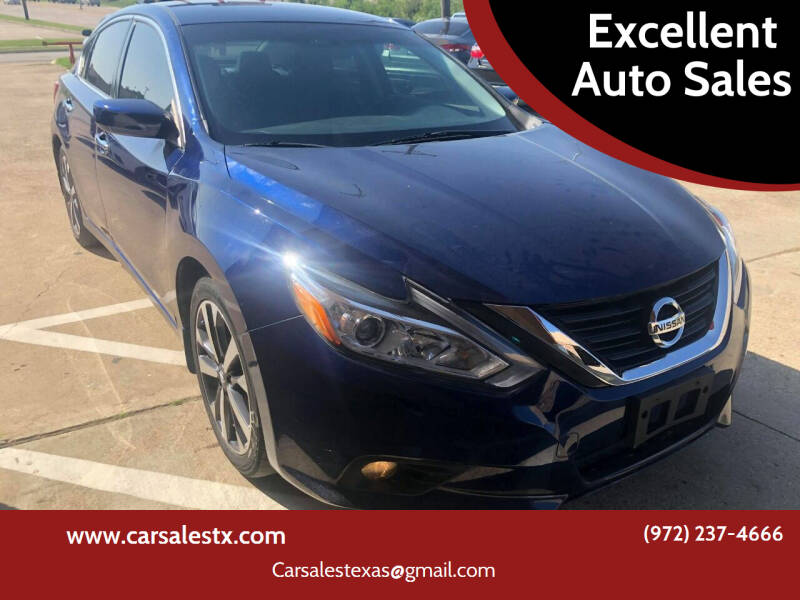 2016 Nissan Altima for sale at Excellent Auto Sales in Grand Prairie TX