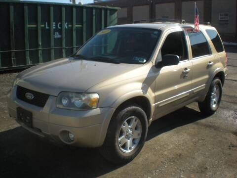 2007 Ford Escape for sale at 611 CAR CONNECTION in Hatboro PA