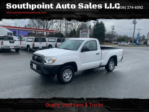 2014 Toyota Tacoma for sale at Southpoint Auto Sales LLC in Greensboro NC
