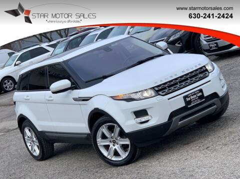 2013 Land Rover Range Rover Evoque for sale at Star Motor Sales in Downers Grove IL