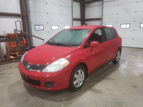 2008 Nissan Versa for sale at Hometown Automotive Service & Sales in Holliston MA