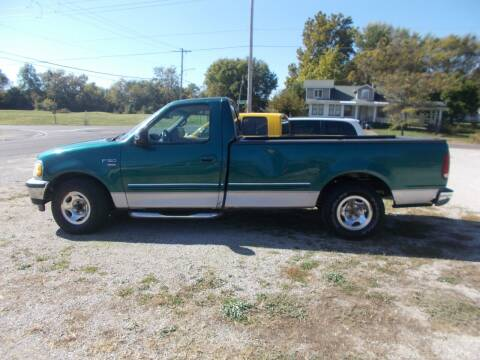 1998 Ford F-150 for sale at Ollison Used Cars in Sedalia MO