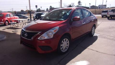 2017 Nissan Versa for sale at 6 D's Auto Sales MANNFORD in Mannford OK