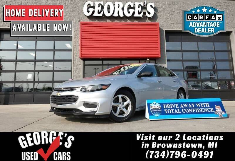 2017 Chevrolet Malibu for sale at George's Used Cars - Pennsylvania & Allen in Brownstown MI