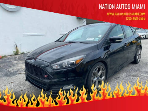 2017 Ford Focus for sale at Nation Autos Miami in Hialeah FL