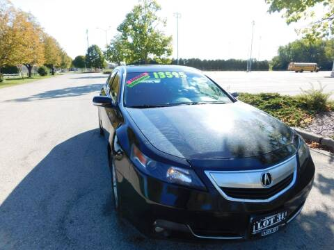 2012 Acura TL for sale at Lot 31 Auto Sales in Kenosha WI