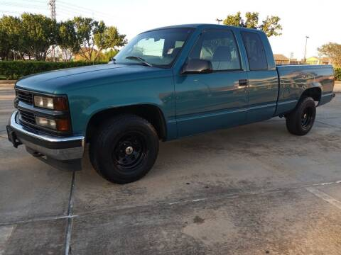 1997 Chevrolet C/K 1500 Series for sale at Affordable Auto Spot in Houston TX