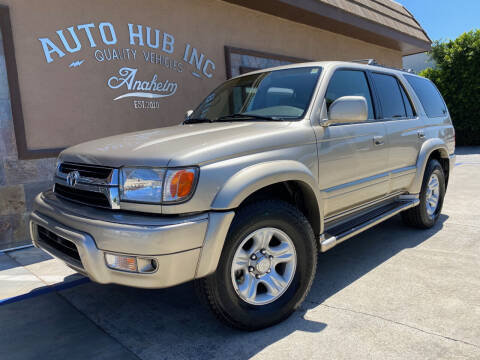 2002 Toyota 4Runner for sale at Auto Hub, Inc. in Anaheim CA