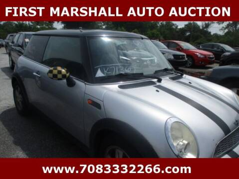 2006 MINI Cooper for sale at First Marshall Auto Auction in Harvey IL