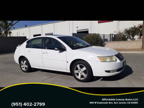 2007 Saturn Ion for sale at Affordable Luxury Autos LLC in San Jacinto CA