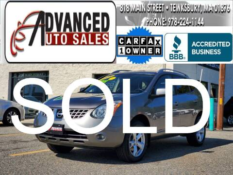 2008 Nissan Rogue for sale at Advanced Auto Sales in Tewksbury MA