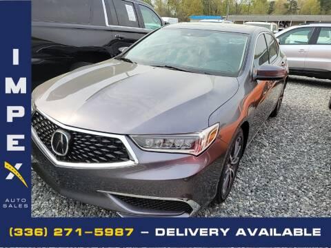 2018 Acura TLX for sale at Impex Auto Sales in Greensboro NC