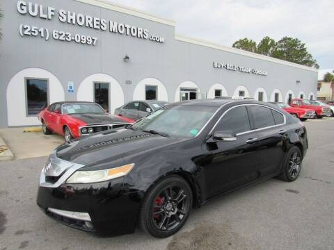 2009 Acura TL for sale at Gulf Shores Motors in Gulf Shores AL