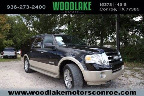 2007 Ford Expedition EL for sale at WOODLAKE MOTORS in Conroe TX