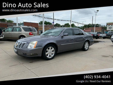 2007 Cadillac DTS for sale at Dino Auto Sales in Omaha NE