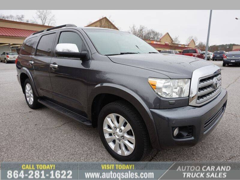 2013 Toyota Sequoia for sale at Auto Q Car and Truck Sales in Mauldin SC