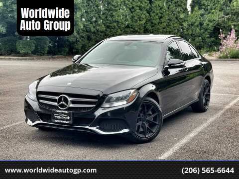 2015 Mercedes-Benz C-Class for sale at Worldwide Auto Group in Auburn WA
