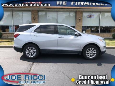 2020 Chevrolet Equinox for sale at JOE RICCI AUTOMOTIVE in Clinton Township MI