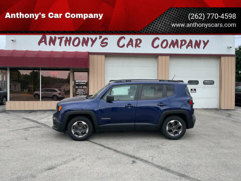 2017 Jeep Renegade for sale at Anthony's Car Company in Racine WI