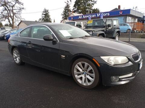 2013 BMW 3 Series for sale at All American Motors in Tacoma WA