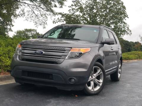 2013 Ford Explorer for sale at William D Auto Sales in Norcross GA