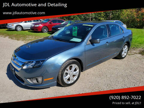 2012 Ford Fusion for sale at JDL Automotive and Detailing in Plymouth WI