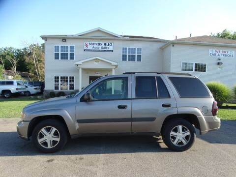 2005 Chevrolet TrailBlazer for sale at SOUTHERN SELECT AUTO SALES in Medina OH