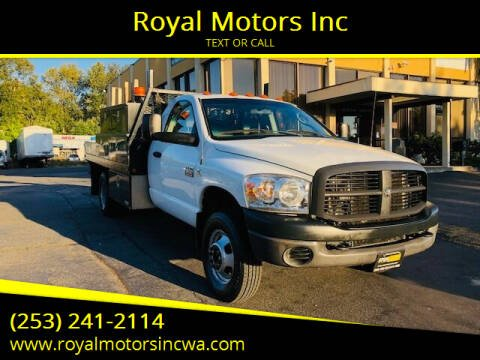 2007 Dodge Ram Chassis 3500 for sale at Royal Motors Inc in Kent WA