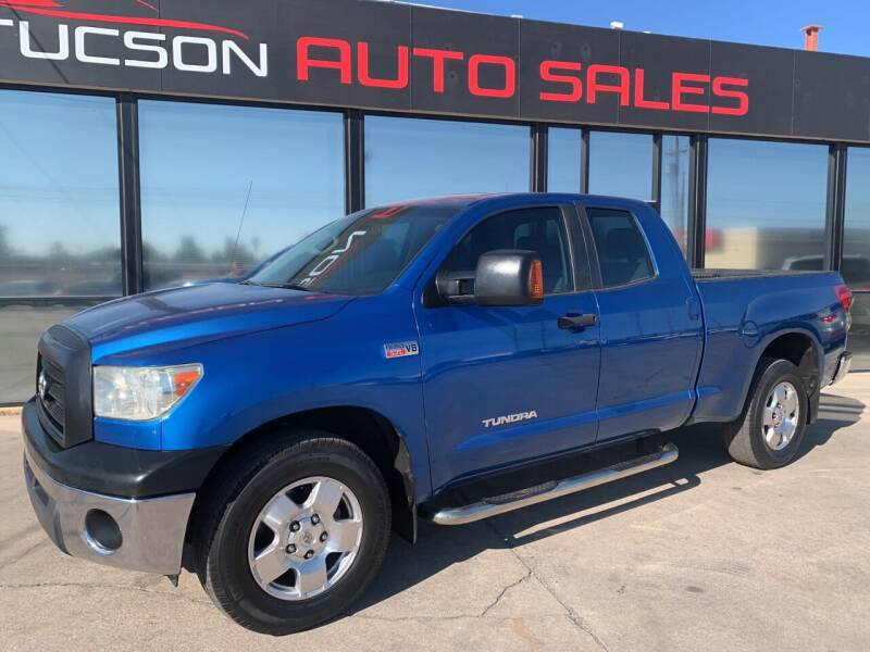 2008 Toyota Tundra for sale at Tucson Auto Sales in Tucson AZ