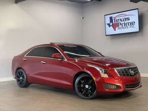 2014 Cadillac ATS for sale at Texas Prime Motors in Houston TX