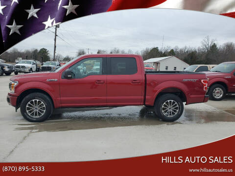 2018 Ford F-150 for sale at Hills Auto Sales in Salem AR