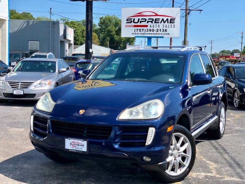 2009 Porsche Cayenne for sale at Supreme Auto Sales in Chesapeake VA