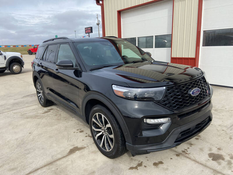 2020 Ford Explorer for sale at SCOTT LEMAN AUTOS in Goodfield IL