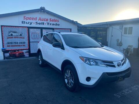 2013 Toyota RAV4 for sale at Speed Auto Sales in El Cajon CA