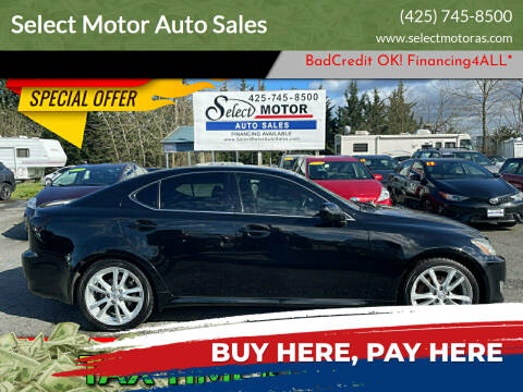 2006 Lexus IS 250 for sale at Select Motor Auto Sales in Lynnwood WA