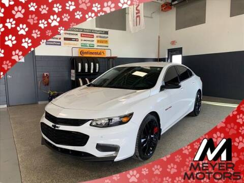 2018 Chevrolet Malibu for sale at Meyer Motors in Plymouth WI