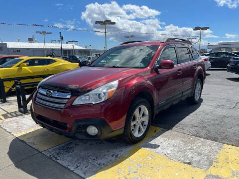2013 Subaru Outback for sale at Better All Auto Sales in Yakima WA