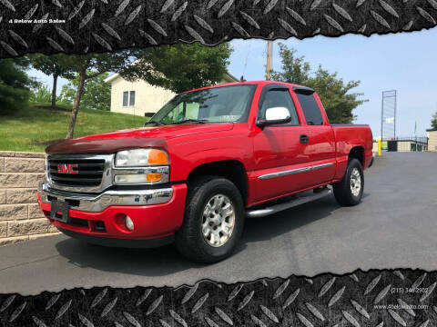 2006 GMC Sierra 1500 for sale at 4 Below Auto Sales in Willow Grove PA