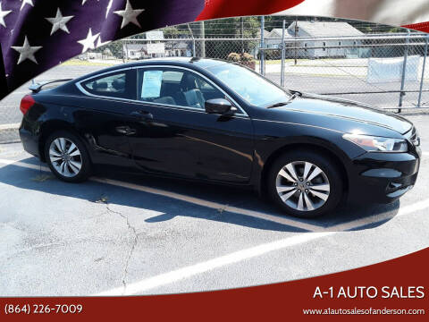 2012 Honda Accord for sale at A-1 Auto Sales in Anderson SC