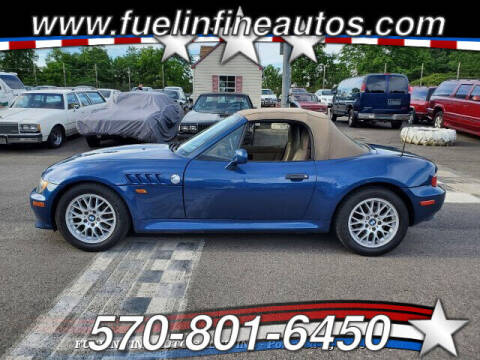 2000 BMW Z3 for sale at FUELIN FINE AUTO SALES INC in Saylorsburg PA